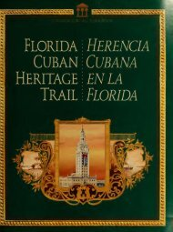Florida Cuban heritage trail = Herencia Cubana en la Florida - Edocs