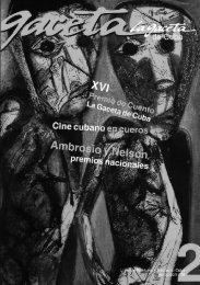 Ver Revista en formato PDF - Unión de Escritores y Artistas de Cuba