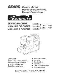Owner's Manual Manual de lnstrucciones Manuel d ... - ManageMyLife