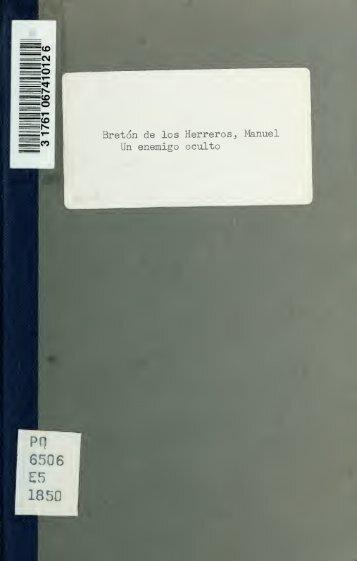 Un enemigo oculto - University of Toronto Libraries