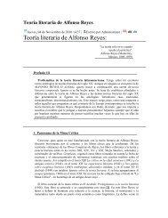 Teoría literaria de Alfonso Reyes: - iberoamericanaliteratura