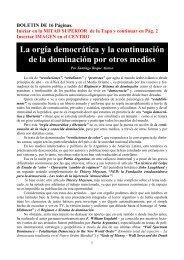 """Técnica del Golpe de Estado de """"Color"""" – Operación - Patria Argentina"""