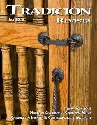 tradicion revista fall 2010 - LPD Press & Rio Grande Books