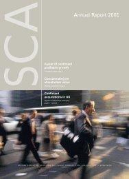Annual Report 2001 - SCA