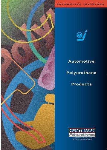 Automotive Polyurethane Products