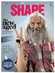 shape a magazine from sca on trends, markets