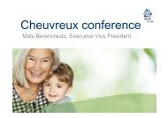SCA presentation at Cheuvreux conference
