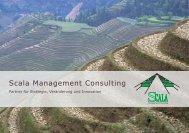Unternehmensbroschüre - Scala Management Consulting