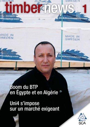 Boom du BTP en Égypte et en Algérie Uni4 s'impose sur un ... - SCA