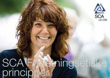 SCA Forretningsetiske principper