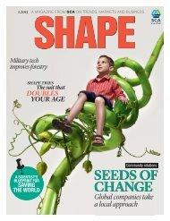 SHAPE Magazine 1 / 2013 - SCA