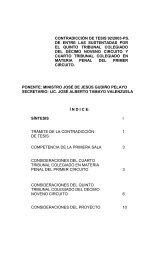 CONTRADICCIÓN DE TESIS 92/2003-PS