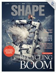 SCA magazine Shape 4.2012 focus on recycling