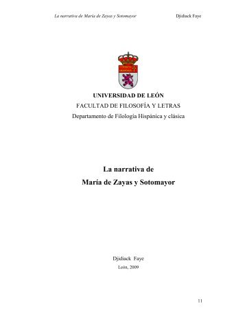 2009FAYE, DJIDIACK.pdf - Universidad de León