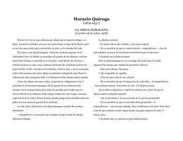 La abeja haragana - tatespanish.com