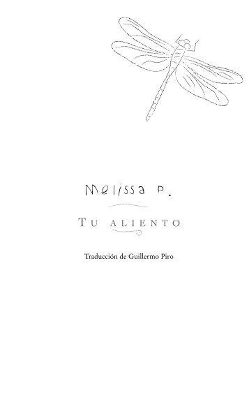 Primeras Páginas de Tu aliento - Prisa Ediciones