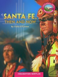 Lesson 7:Sante Fe, Then and Now