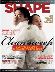 SHAPE Magazine 1/2007 - SCA