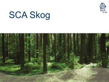 SCA Skog