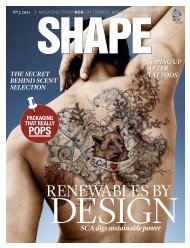 SCA magazine Shape 3 2011 English