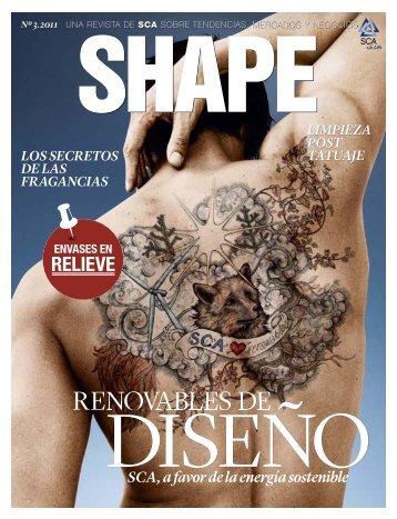 SCA revista Shape 3 / 2011 Spanish