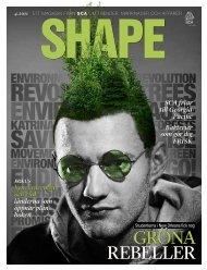 SCA magasin SHAPE 4 2011 fokuserar på tillväxtmarknader