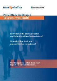 Folder für Städte - Team Schaffner