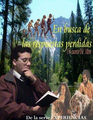 En busca de las respuestas perdidas - Escritores Teocráticos.net