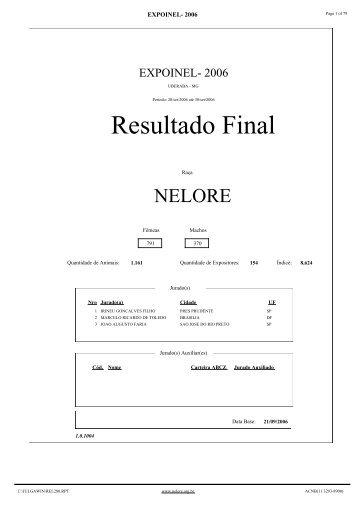 Resultado Final - Avanti Consultoria