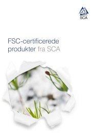 FSC-certificerede produkter fra SCA