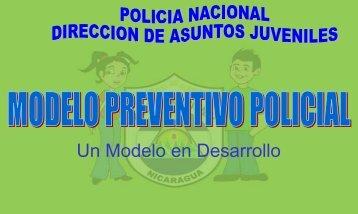 Modelo de Prevención Policial - policia nacional