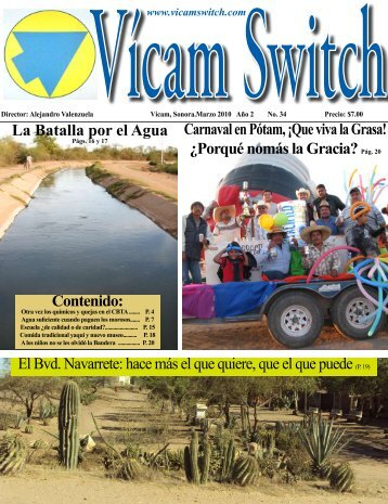 no 34, marzo de 2010 - Vicam Switch
