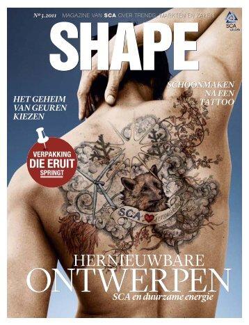 SCA mangazine Shape 3 / 2011 Dutch