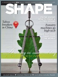 Read the full article in Shape, SCA's magazine on trends, business ...