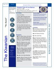 The Kiwanian - KiwanisOne Member Resources