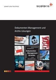 Dokumenten Management und Archiv Lösungen - Scalaris