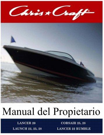 Chris_Craft Manual - Chris-Craft Boats