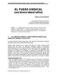 El Fuero Sindical (una técnica laboral tuitiva) - Legal Info Panamá