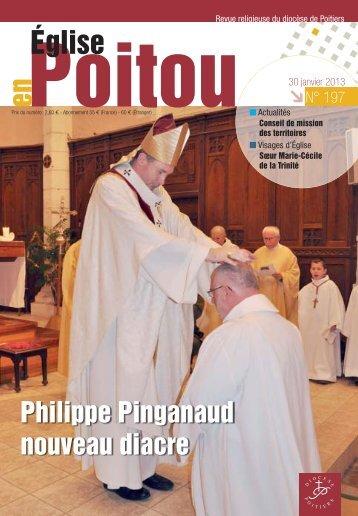 Philippe Pinganaud nouveau diacre - Diocèse Poitiers