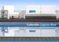 Catálogo Muebles colección Laguna Blue - Exteriors Castellar