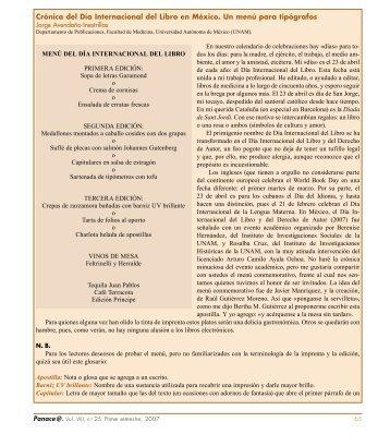 Crónica del Día Internacional del Libro en México. Un ... - Tremédica