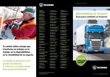 Guía de Consejos para el Invierno - Scania