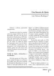 Una historia de Quito - Afese.com