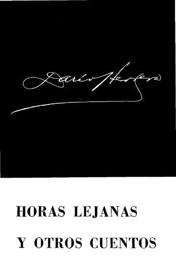 HORAS LEJANAS - Biblioteca Virtual El Dorado