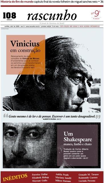Edição 108 - Jornal Rascunho - Gazeta do Povo