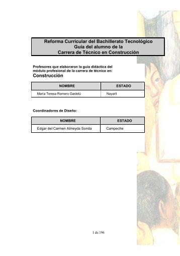Guía - Página de CECYTE Campeche