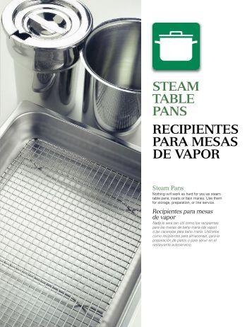 Indice consejos para cocinar al vapor tabla tiempos de for Recipientes para cocinar al vapor