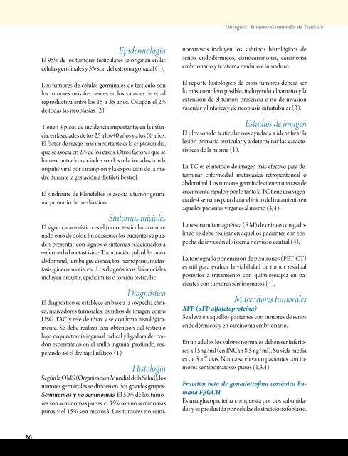 marcadores tumorales testiculo valores normales