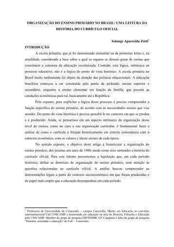 organizao escolar - histedbr - Unicamp