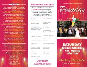 ¡Feliz Navidad y Próspero Año Nuevo! - Pilsen Portal